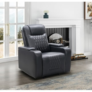 Link to Abbyson Trinity Manual Theater Recliner Similar Items in Living Room Furniture