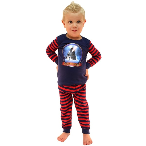 4ec86fa14 Shop The Polar Express Train Baby Pajamas Toddler Kids Pajama Set ...