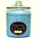 1 Pc 64 oz Blue Lagoon Jar Candles 5.5 in. diameter x 7.75 in. tall