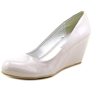 CL By Laundry Nima Open Toe Synthetic Wedge Heel