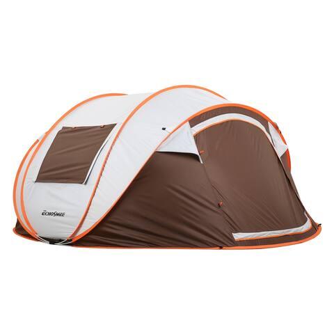 EchoSmile 4-6 Person Tent - 4-6 person