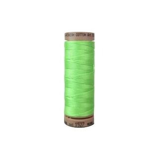 9136 1527 Mettler Silk Finish Cotton 40 164yd Jade Lime