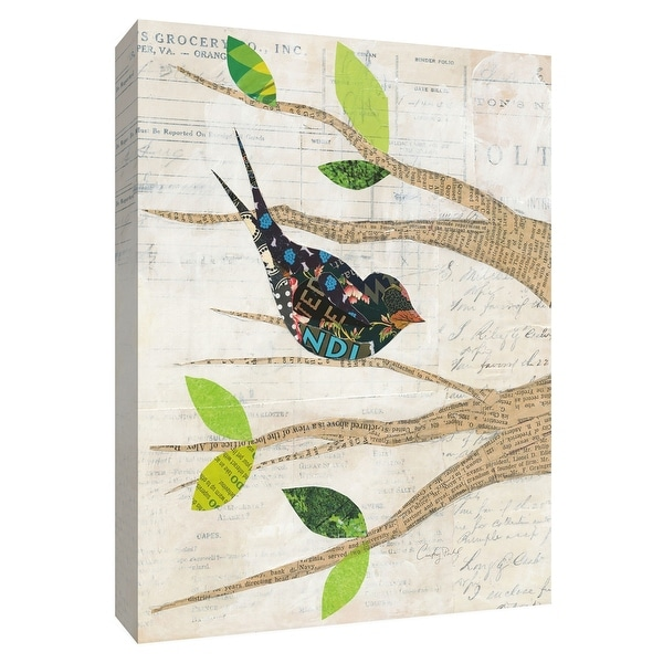 """PTM Images 9-154884 PTM Canvas Collection 10"""" x 8"""" - """"Birds in Spring III"""" Giclee Birds Art Print on Canvas"""