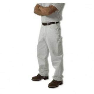 "Keystone 1000WH3430 Workwear Painter Pants, 34"" x 30"", White"