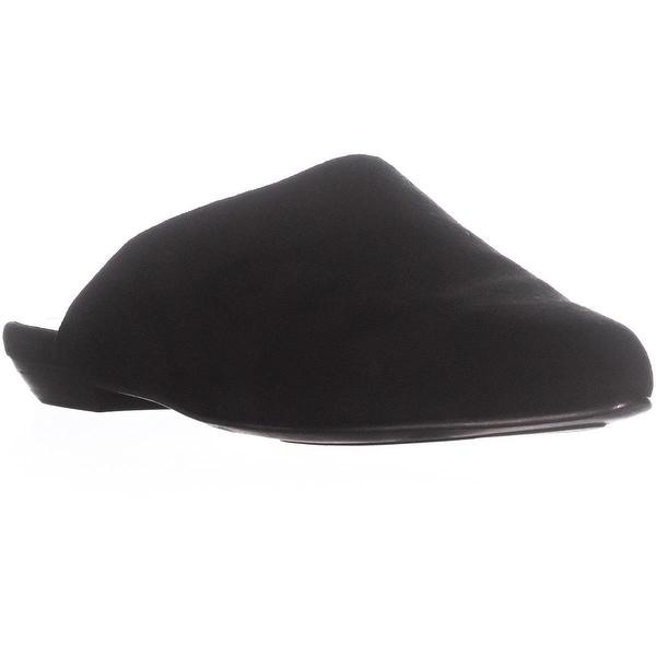 Eileen Fisher Blog-Su Pointed Toe Mule Slide Sandals, Black - 6.5 us