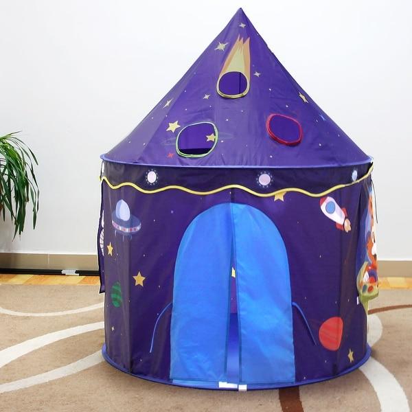 26ad4e2a94da Shinehalo Folding Play Tent Adorable Castle Private House For Kids Portable  Design