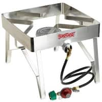 Bayou Classic 1114 13 Inch Tall Square Patio Stove
