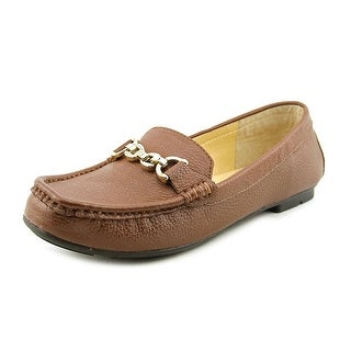 Marc Fisher Aris2 Square Toe Leather Loafer