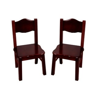 Guidecraft Classic Espresso Extra Chairs