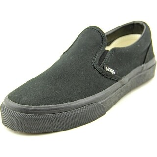 Vans Classic Slip-On Round Toe Canvas Loafer