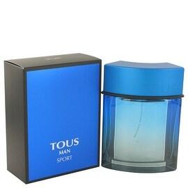 Tous Man Sport by Tous Eau De Toilette Spray 3.4 oz - Men