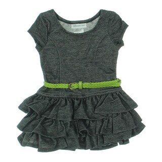 Bonnie Jean Casual Dress Toddler Tiered - 2t