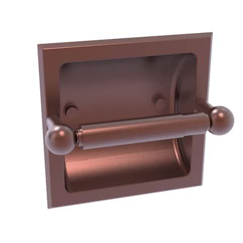 Allied Brass Prestige Skyline Collection Recessed Toilet Paper Holder