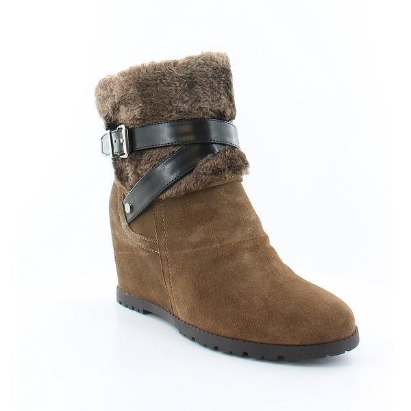Marc Fisher Women's Trevis Suede Ankle Boots