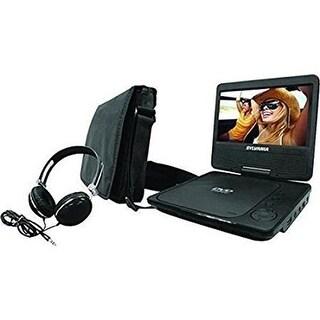 Sylvania 9 in. Swivel-Screen Portable DVD Player, Black