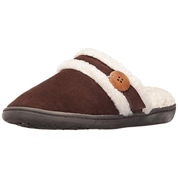 Staheekum Womens Alta Clog Slippers Cow Suede Lined