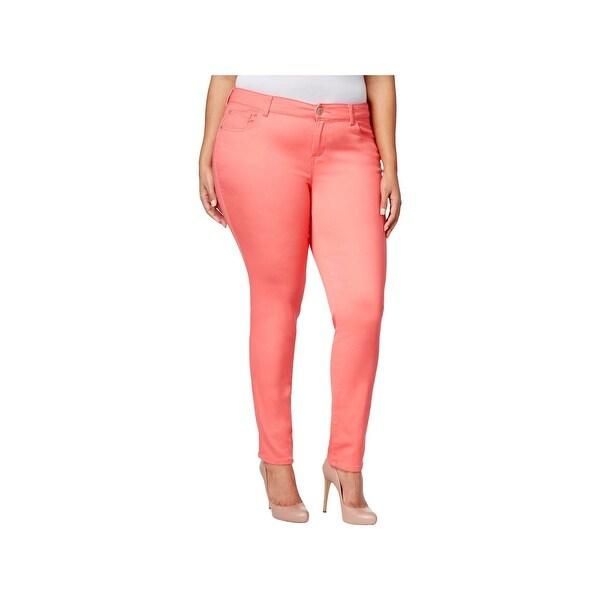 53d5c3d066da3 Shop Celebrity Pink Womens Plus Jayden Skinny Jeans Petite Ankle ...
