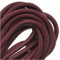 Paracord 550 / Nylon Parachute Cord 4mm - Maroon (16 Feet/4.8 Meters)