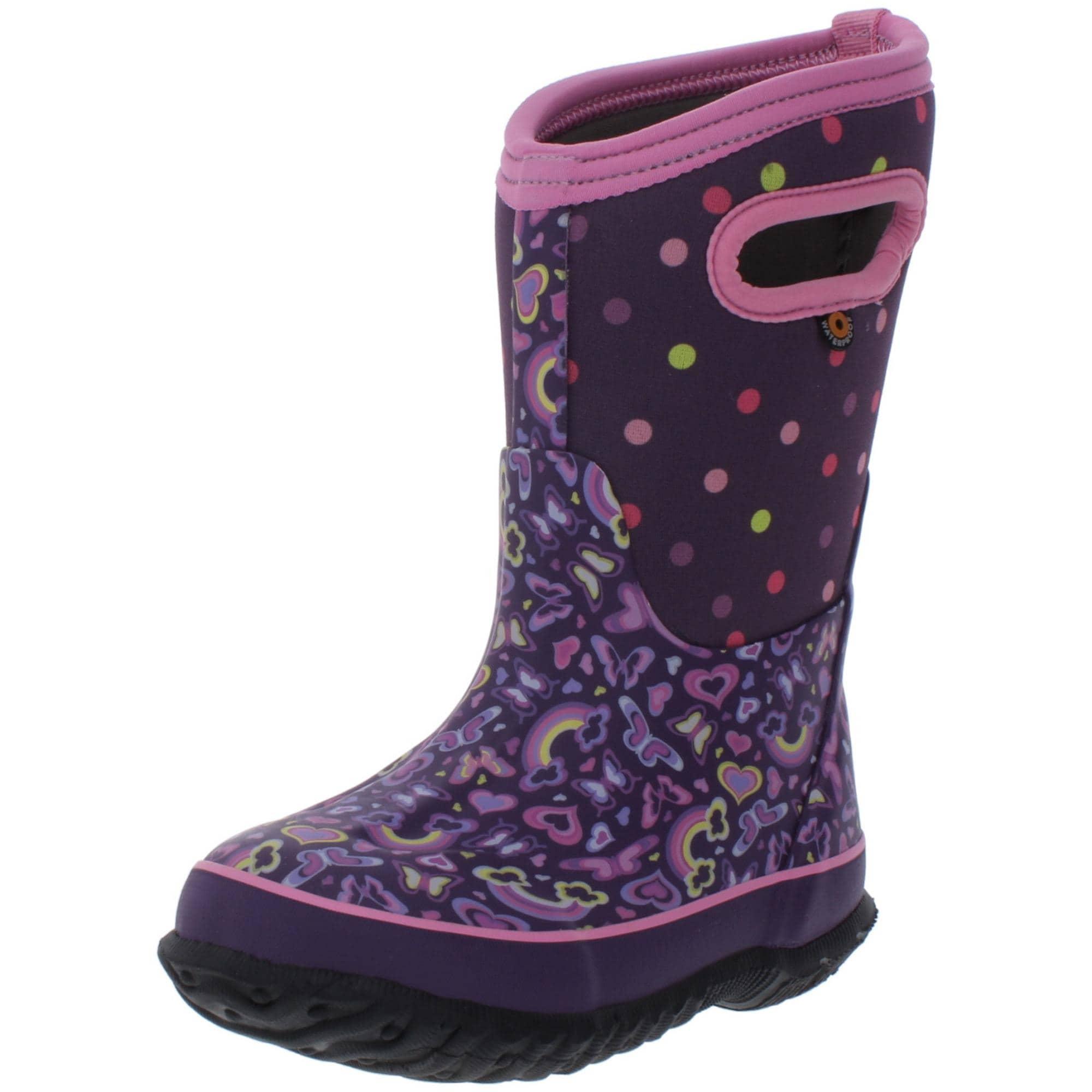 Shop Bogs Girls Classic Rainbow Winter
