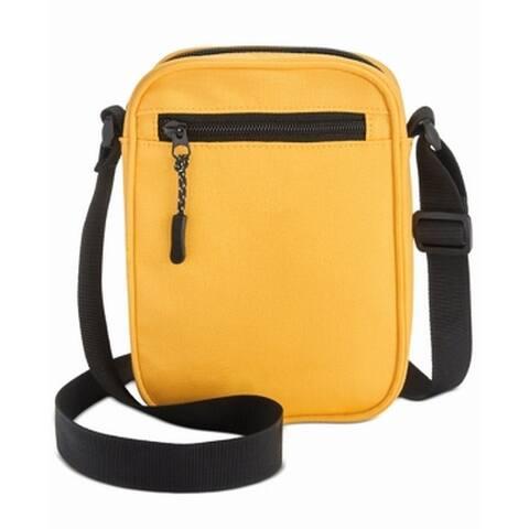 Bespoke Men's Bag Yellow Mini Messenger Solid Classic Oxford Zip Top