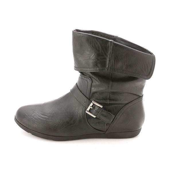 Rampage Womens Brunella Closed Toe Ankle Working Boots