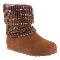 Bearpaw Women's Cosima Pull On Boot Hickory II Cow Suede