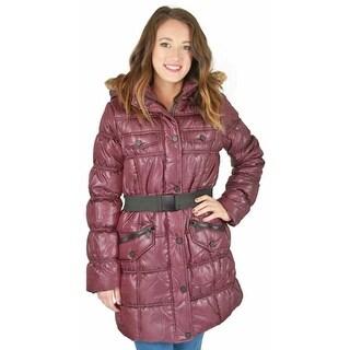 Urban Republic Womens Puffer Coat Winter Outerwear