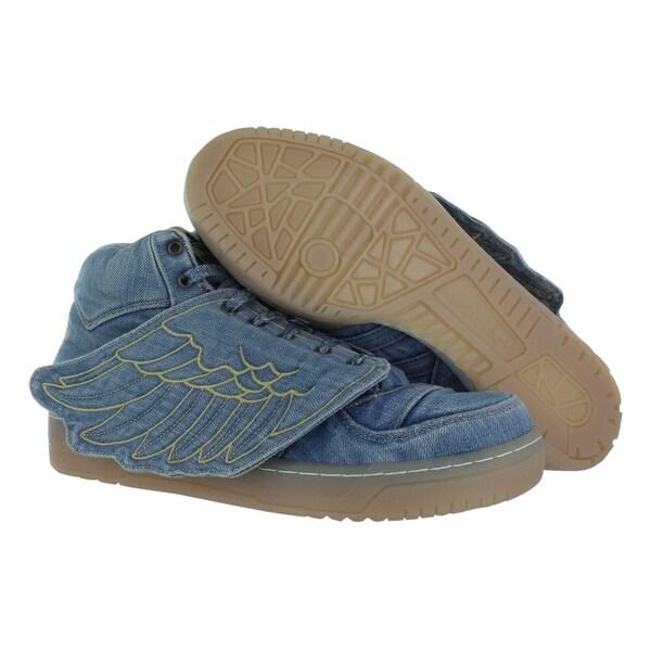 Adidas Jeremy Scott Wings Denim Men's Shoes Size - 11 d(m) us