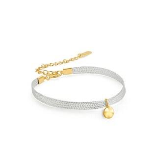 """Ripple Ribbon Bracelet - 8"""""""