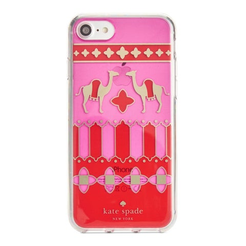 Kate Spade Cell Phone Case Camel Medallion iPhone 7