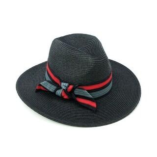 ChicHeadwear Womens Fashion Panama Hat w/ Band - One size