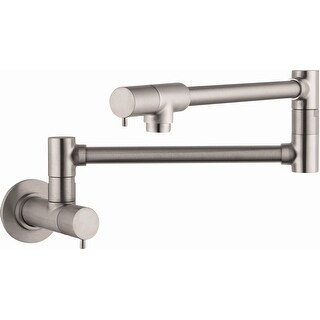 Hansgrohe 04057  Talis S Wall Mounted Double-Jointed Pot Filler