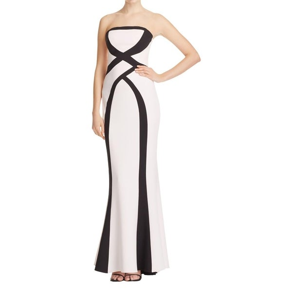29ffd3d4bf2 Shop Maria Bianca Nero Womens Evening Dress Column Strapless - Free  Shipping Today - Overstock - 17573539