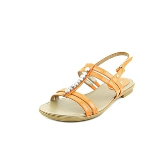 Easy Spirit e360 Kabrina Women W Open-Toe Patent Leather Slingback Heel