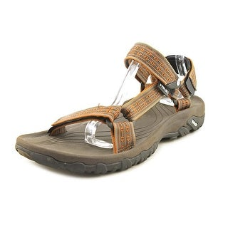 Teva Hurricane XLT Men Open-Toe Canvas Brown Sport Sandal