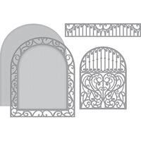 Spellbinders Shapeabilities Dies-Ornamental Arch