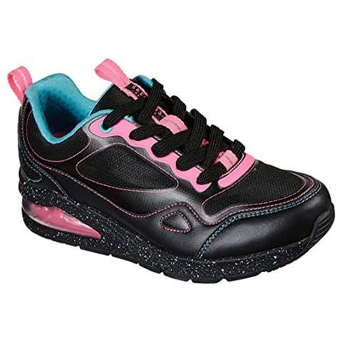 Skechers Women's Uno 2 - Spectacle Hi Sneaker, Black/Multi