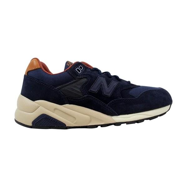 wholesale dealer 73d3e e7c1b Shop New Balance 580 Dark Cyclone Navy/Tan MT580SA Men's ...