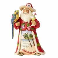 Margaritaville Santa and Parrot