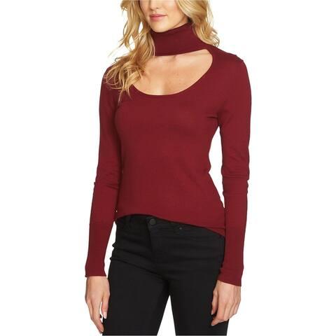 1.State Womens Cutout Knit Sweater