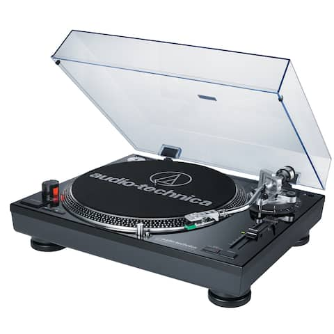 Audio-Technica Direct-Drive Pro Turntable (USB & Analog, Black)