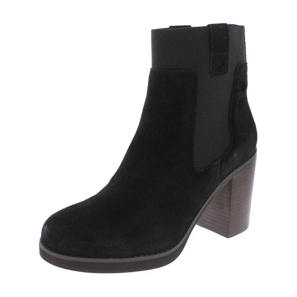 Design Lab Womens Jane Ankle Boots Casual Block