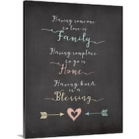 Jo Moulton Premium Thick-Wrap Canvas entitled A Blessing