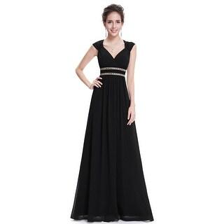 Ever-Pretty Women's Elegant V-Neck Long Evening Dress 08697