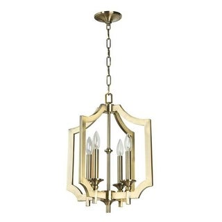 Jeremiah Lighting 37344 Lisbon 4 Light Candle Style Chandelier - 20.87 Inches Wide