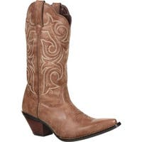 Crush by Durango Women's Scall-Upped Western Boot, DCRD177