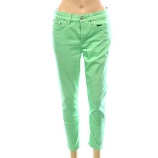Lauren Ralph Lauren NEW Green Women's Size 6 Slim Skinny 5-Pocket Jeans