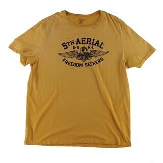 Polo Ralph Lauren Mens T-Shirt Cotton Military Graphic - XXL