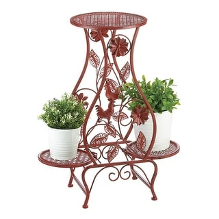 Link to Hubert Red Rooster Triple Plant Display Similar Items in Outdoor Decor
