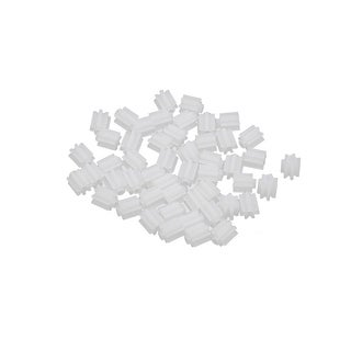 50PCS 7 Teeth 0.3mm Hole Diameter Plastic Front Gear Wheel for RC Toy Car